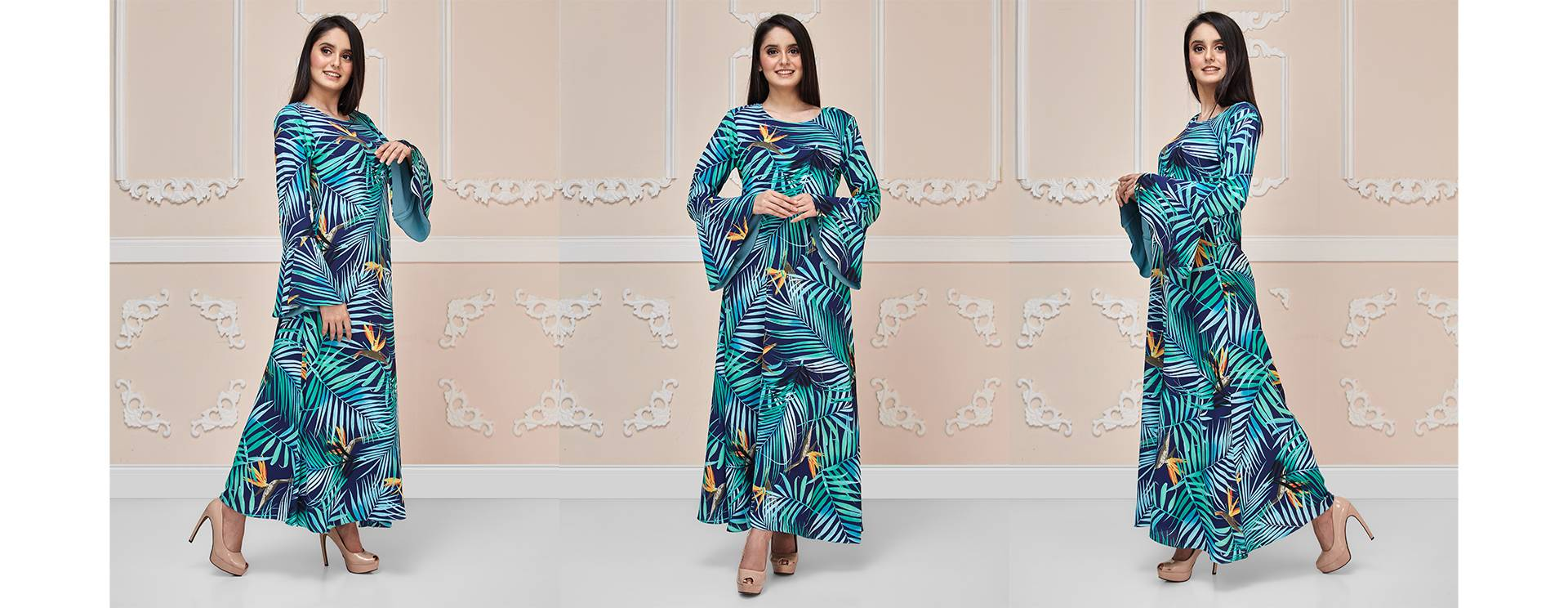 Tropical Paradise Maxi Dress