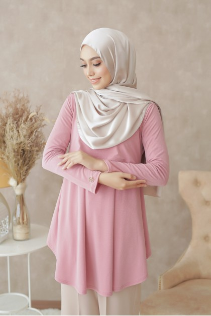 Melissa Top in Dusty Pink